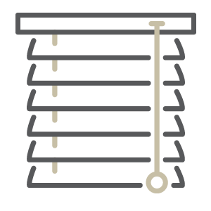 Venetian Blinds Icon